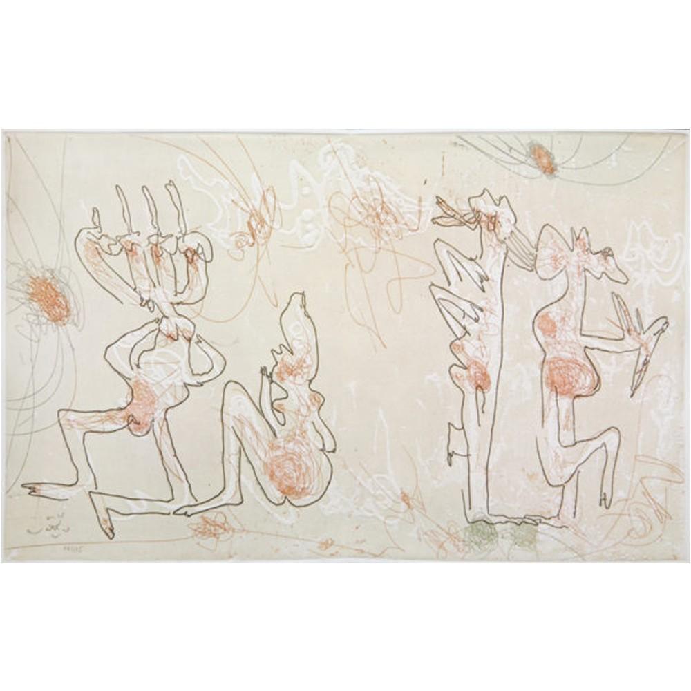 Roberto Matta Les Mots Dans La Peinture Galerie Arenthon