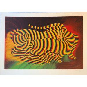 Victor Vasarely, Tigres