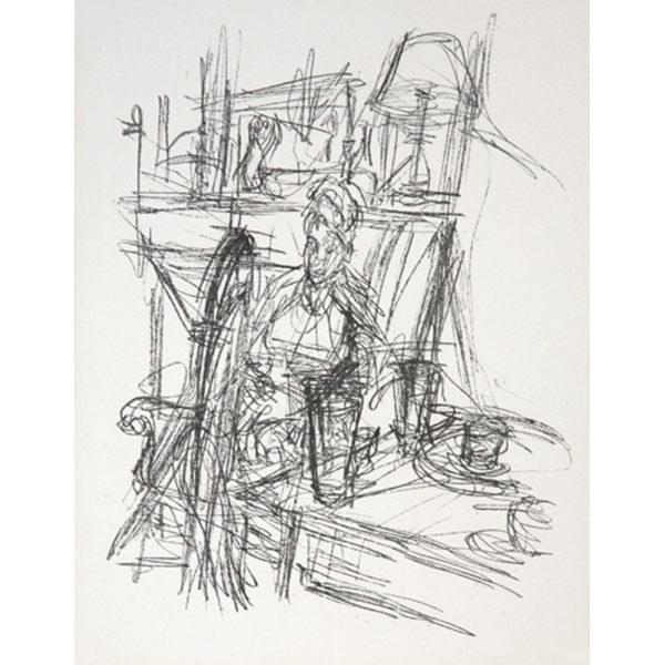 Alberto Giacometti, Paris sans fin, pl. 40