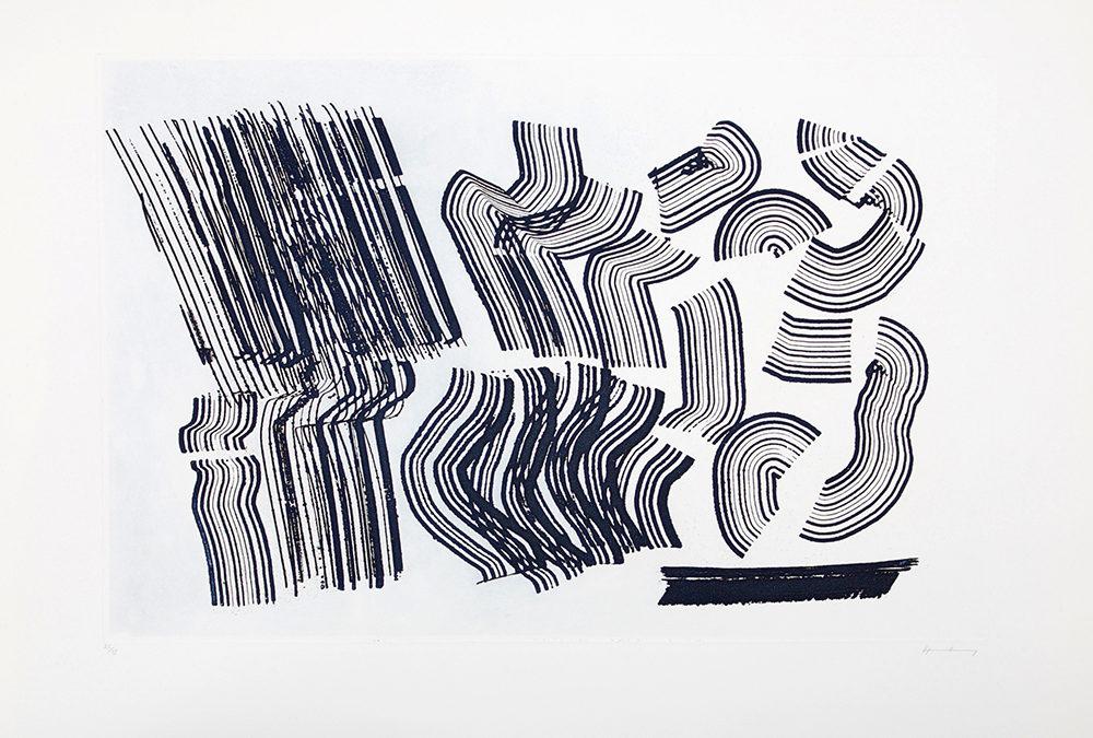 Exposition Hans Hartung à la Galerie Arenthon
