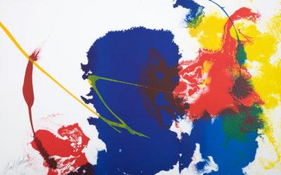 Exposition Paul Jenkins à la Galerie Arenthon